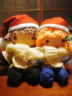テツレフィ人形クリスマスバージョン
